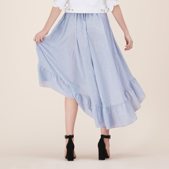 Jupe longue avec volants - Jupes & Shorts - MAJE