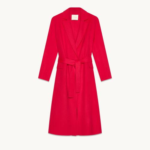 Manteau en laine mélangée - Manteaux - MAJE