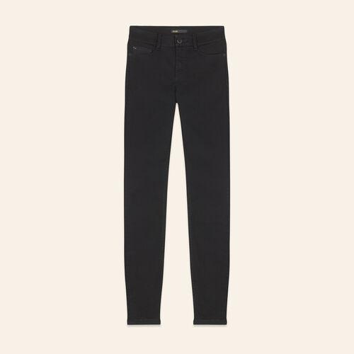 Jean slim en coton - Jeans - MAJE