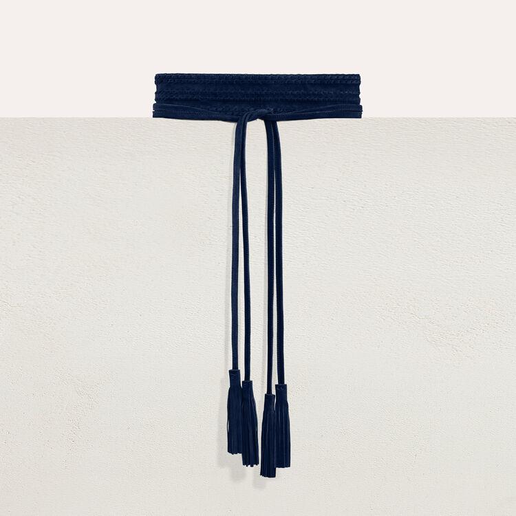 마쥬 ANOUSHKA 와이드 스웨이드 벨트 - 3 컬러 [60% 할인!] MAJE ANOUSHKA Ceinture taille haute en suade