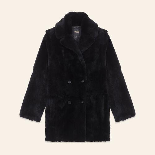 Manteau en lapin - Manteaux - MAJE