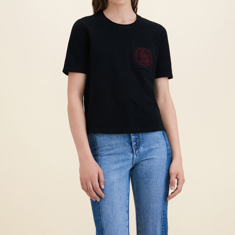 Tee-shirt en coton - Hauts - MAJE