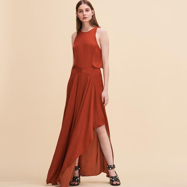 Robe longue sans manches - Robes - MAJE