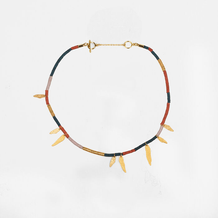 Collier avec pampilles - Best Sellers - MAJE