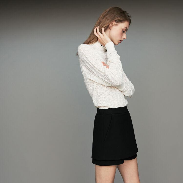 마쥬 치마 바지 MAJE IPAM - Short-jupe en crepe - Jupes & Shorts