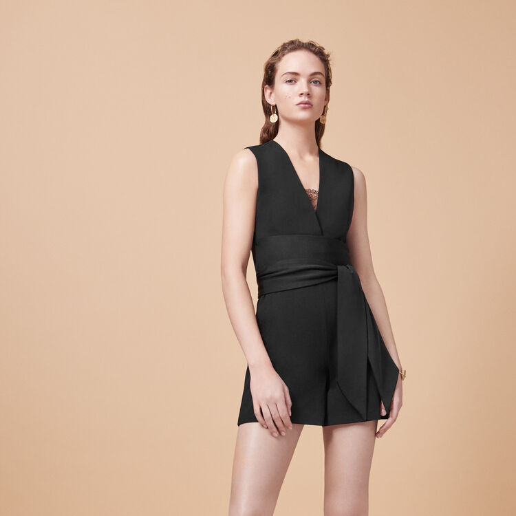 Combi-short sans manches - Jupes & Shorts - MAJE