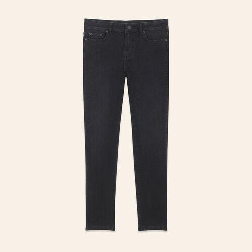 Jean court à la coupe droite - Jeans - MAJE