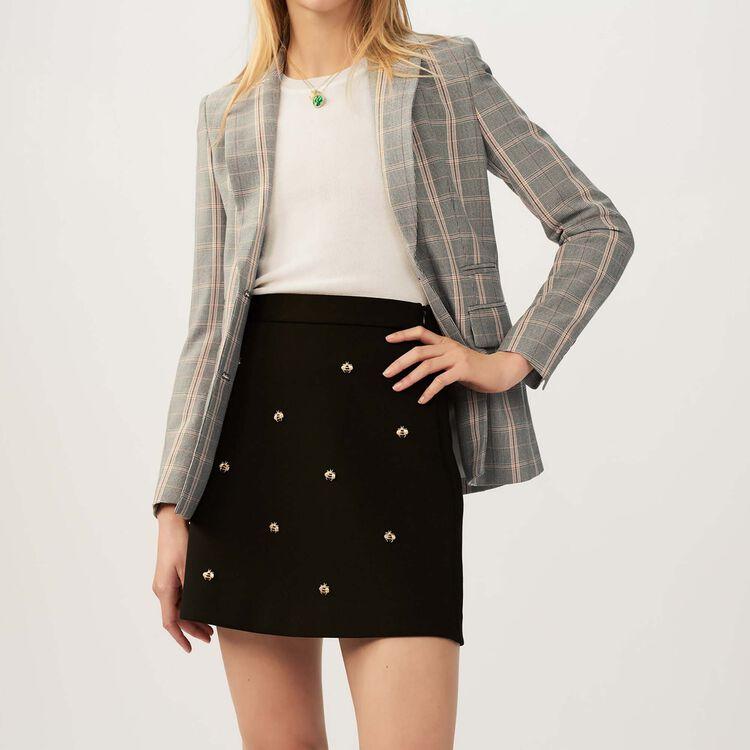 마쥬 치마 바지 MAJE JIZIE - Jupe avec abeilles brodees - Jupes & Shorts