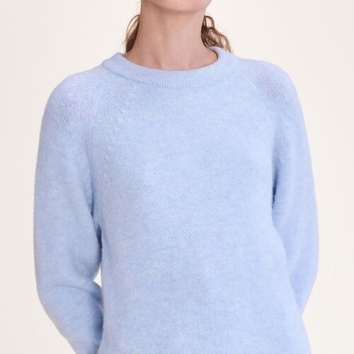 Pull loose mousseux - Maille - MAJE