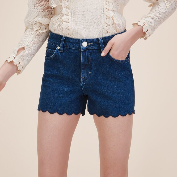 Short en denim - Jupes & Shorts - MAJE
