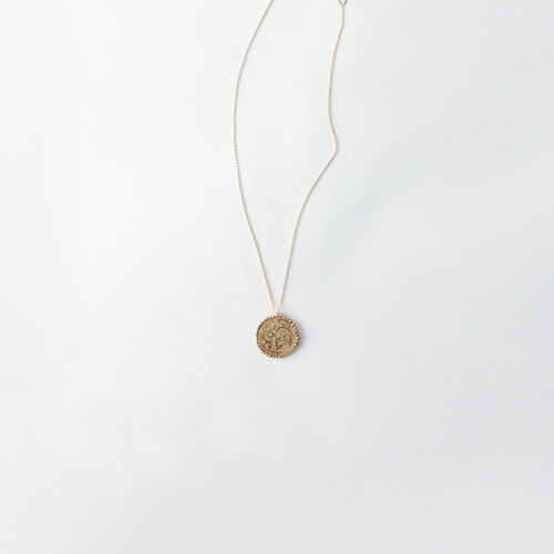 Collier Verseau signe du zodiaque : Tous les accessoires couleur Vieux Laiton