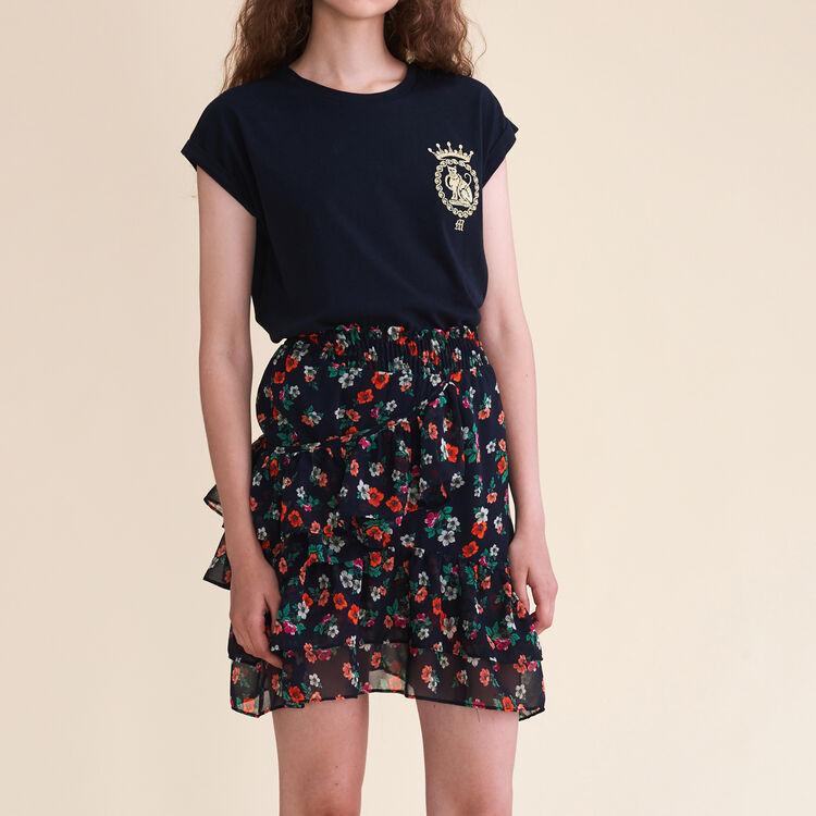 Jupe imprimée - Jupes & Shorts - MAJE