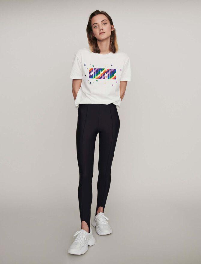 Pantalon façon fuseau Stretch - Pantalons - MAJE
