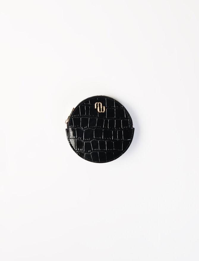 Porte-monnaie ceinture en cuir embossé - Sacs et petite maroquinerie - MAJE