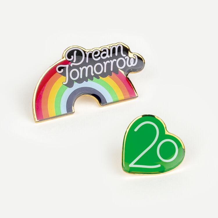 Pins X Maje 20 ans : Gadgets couleur MULTICO