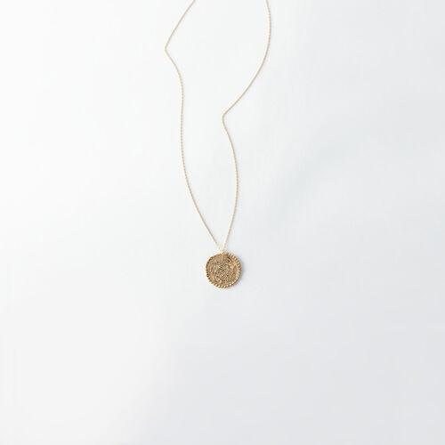 Collier Capricorne signe du zodiaque : Tous les accessoires couleur Vieux Laiton