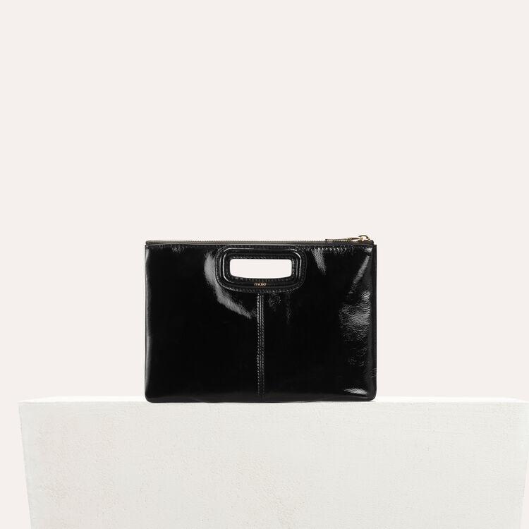 Pochette M Duo en tartan : M Duo couleur BLACK