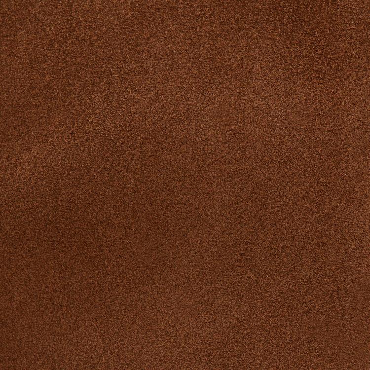 Sac M à franges en cuir de suède : Tout voir couleur CAMEL