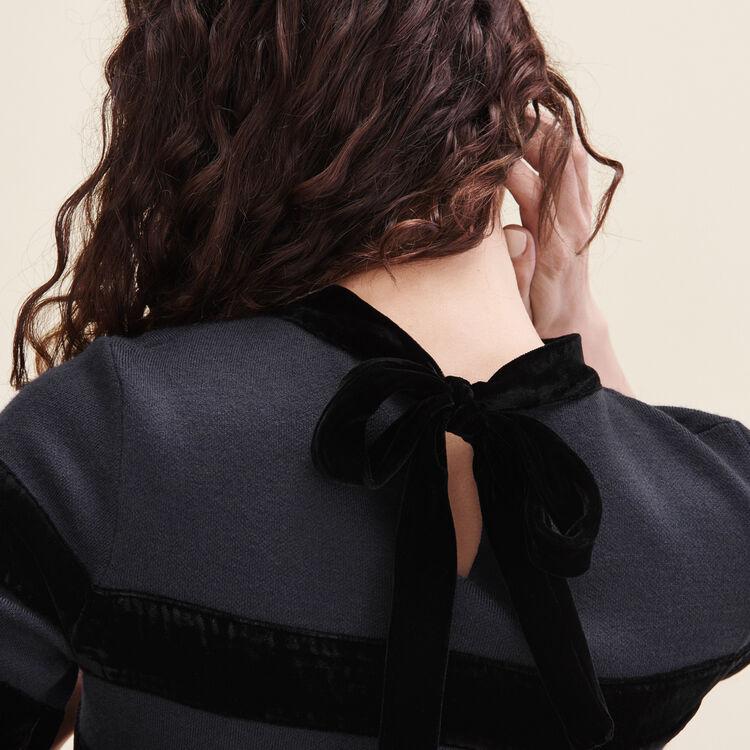 Robe courte en maille bloquée : Tout voir couleur