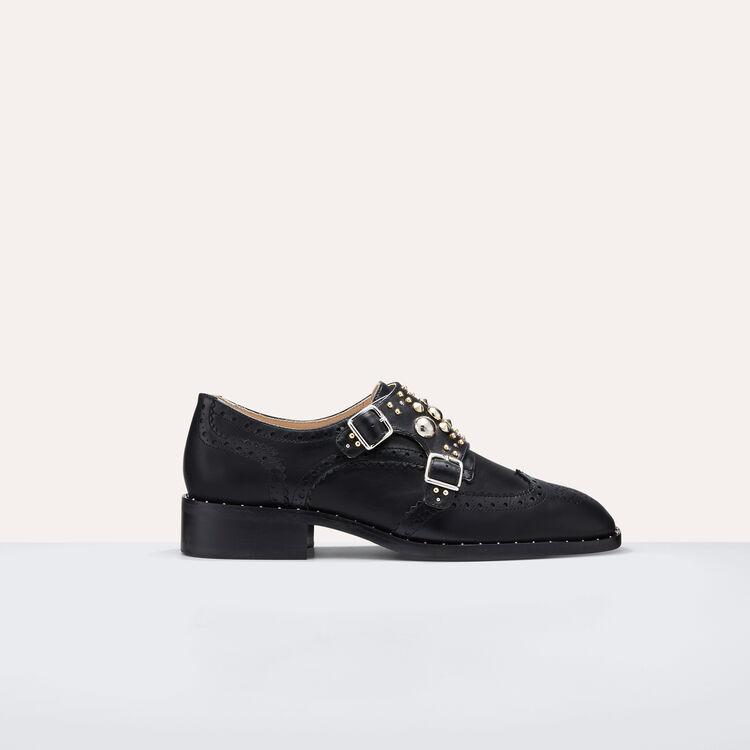 Derbies avec studs : Chaussures couleur Black