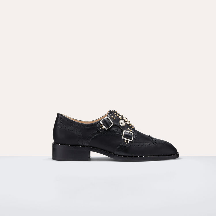 Derbies avec studs - Chaussures - MAJE