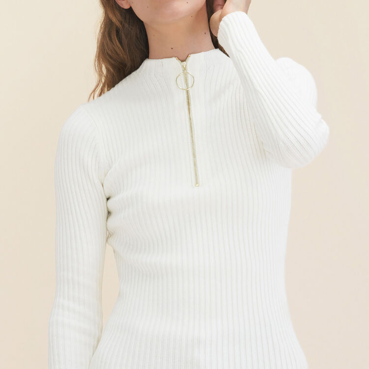 Pull fin en maille stretch - Maille - MAJE