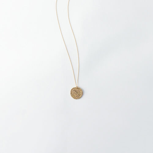 Collier Scorpion signe du zodiaque : Bijoux couleur Vieux Laiton