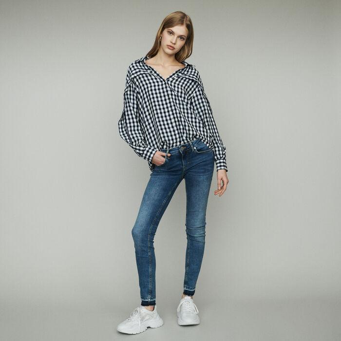 Chemise à imprimé vichy : Chemises couleur CARREAUX