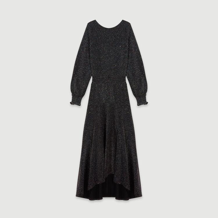 Robe-foulard Stretch en Lurex : Robes couleur MULTICO