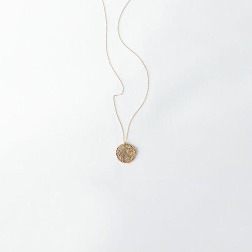 Collier Taureau signe du zodiaque : Tous les accessoires couleur Vieux Laiton