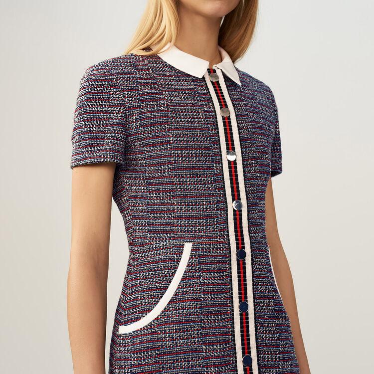 Robe en tweed - Pre-Collection - MAJE