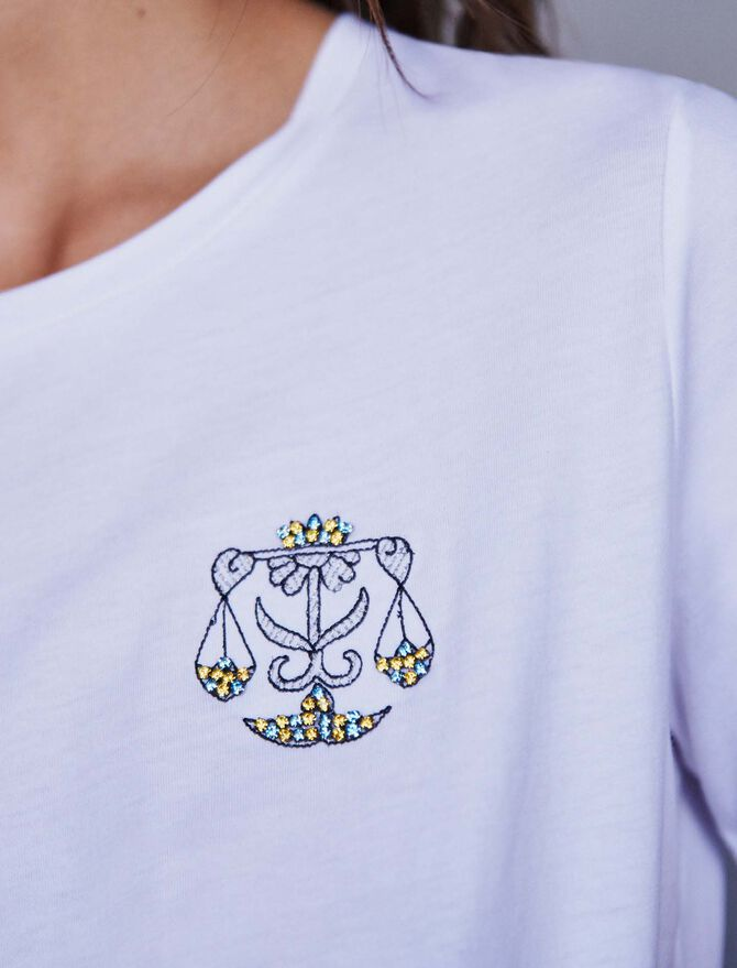 Tee-shirt signe astro « Balance» - T-Shirts - MAJE
