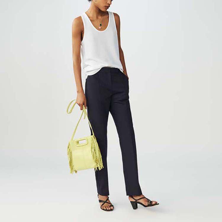 Pantalon à rayures : Pantalons couleur Rayure