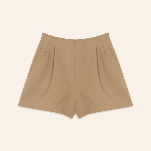 Short en coton mélangé - Jupes & Shorts - MAJE