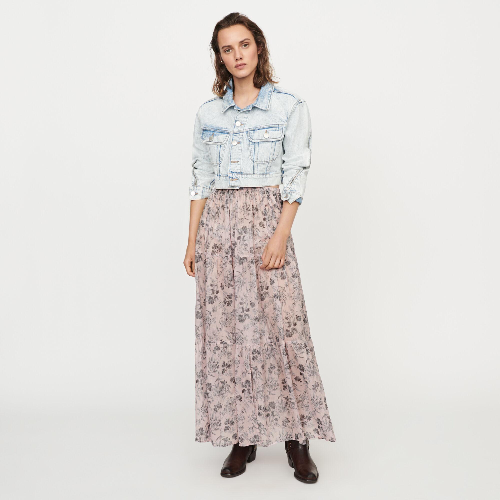 Jupesamp; Shorts Paris Prêt Porter FémininMaje À 8OkXwPn0