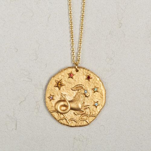 Collier signe du zodiaque Capricorne - Bijoux - MAJE