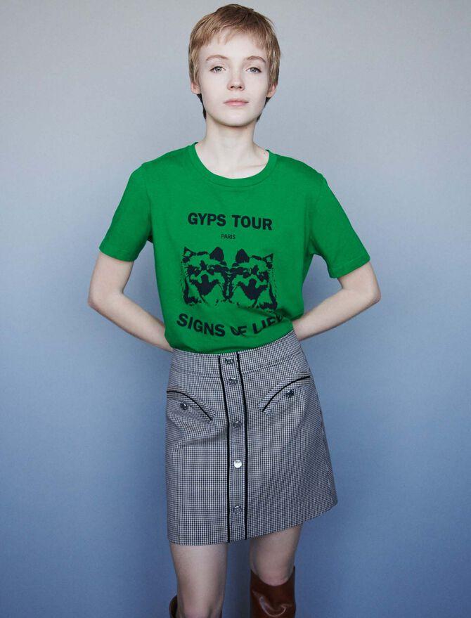 Tee-shirt sérigraphié - Midseason-Sales_UK_30% - MAJE