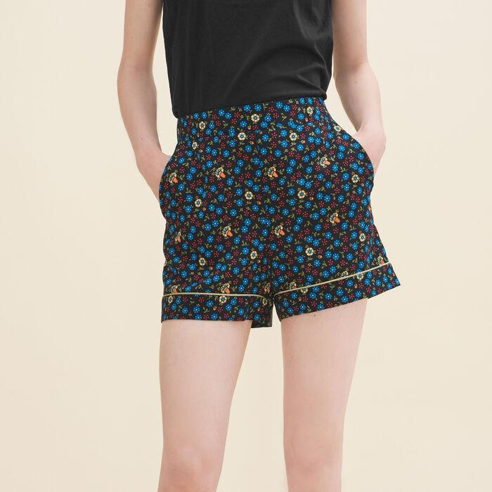 Short à imprimé floral - Jupes & Shorts - MAJE