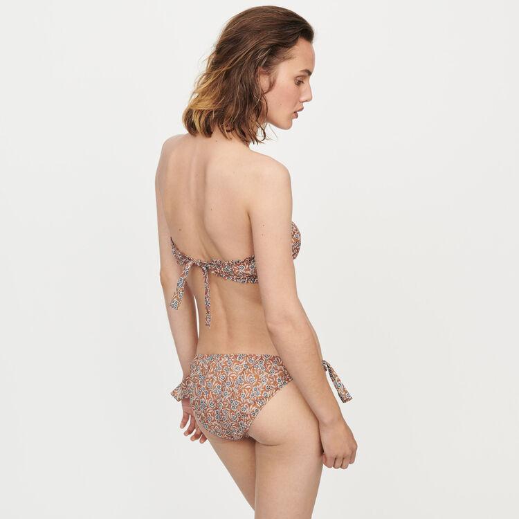 Brassière et culotte 100% coton : Toute la collection couleur Terracotta