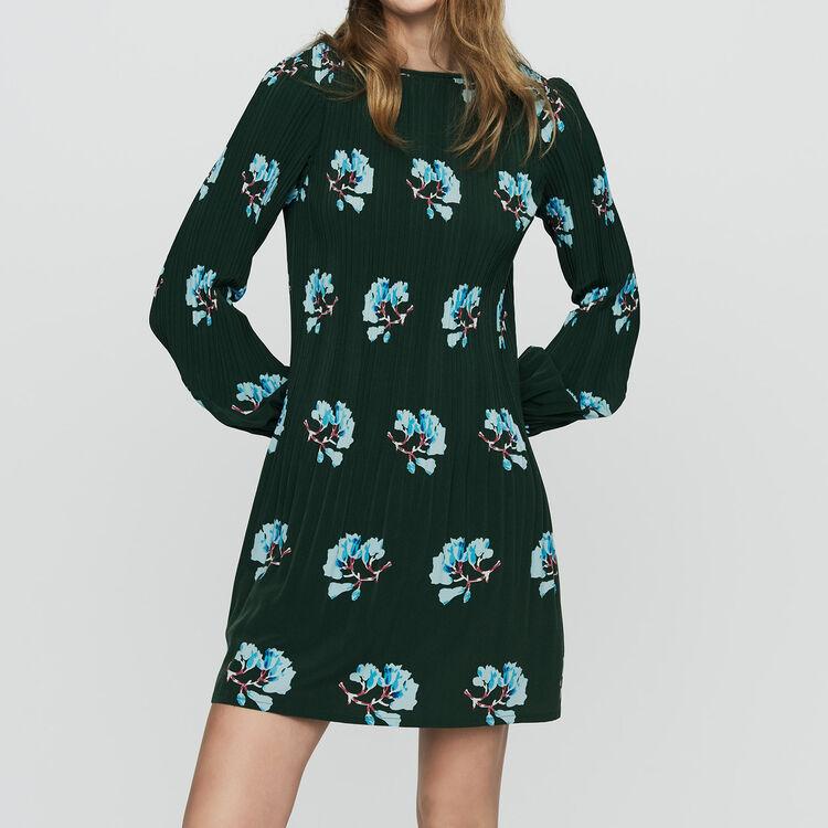 Robes true Robe plissée à imprimé floral   Robes couleur IMPRIME 98e8ccf4ed9f