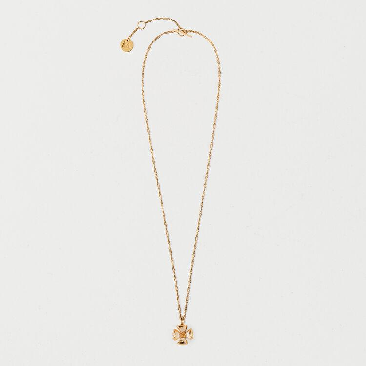 Collier petite fleur : Bijoux couleur OR