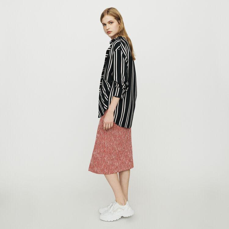 Chemise à rayures trompe-l'œil : Tops & Chemises couleur Rayure