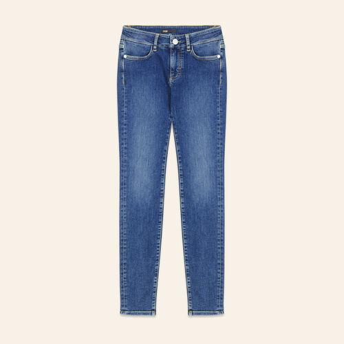 Jean slim délavé - Jeans - MAJE