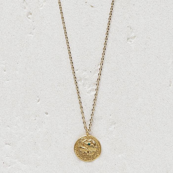 """Collier """"Mon chou"""" en plaqué or : Bijoux couleur OR"""