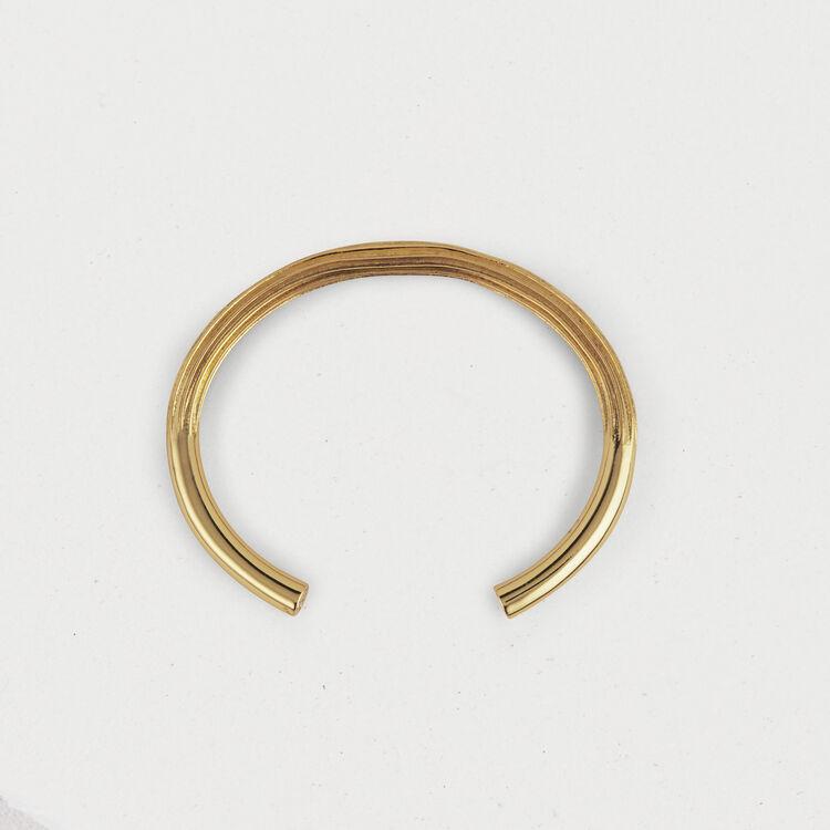 Bracelet semainier 5 en laiton doré : Bijoux couleur OR