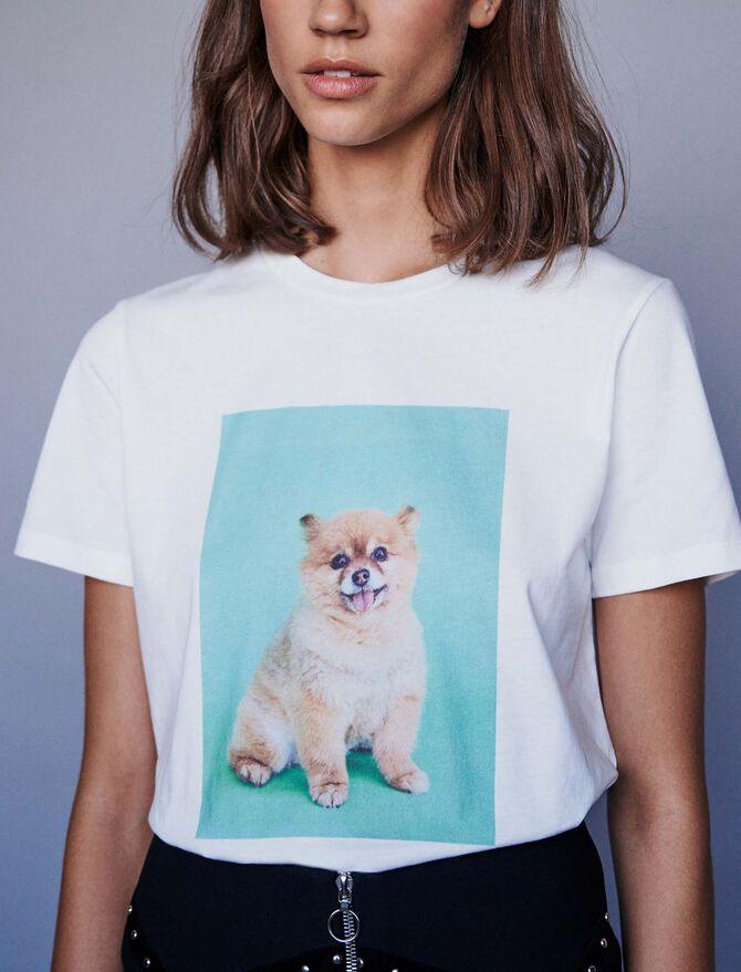 Tee-shirt imprimé - Midseason-Sales_UK_30% - MAJE