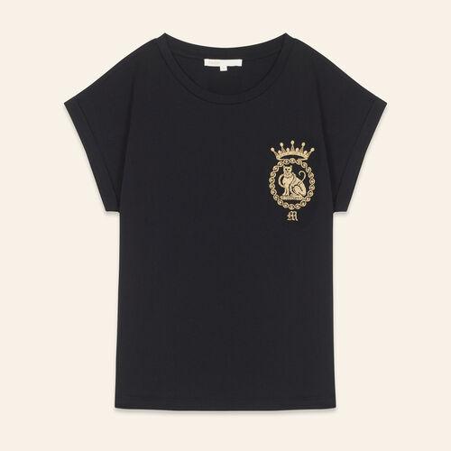 Tee-shirt en coton - T-Shirts - MAJE