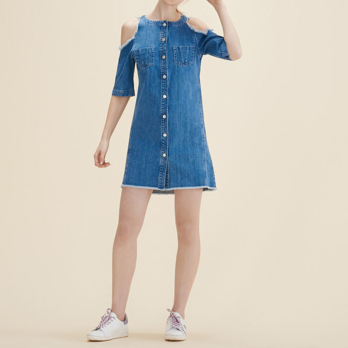 Robe en jean - 50% off and more - MAJE