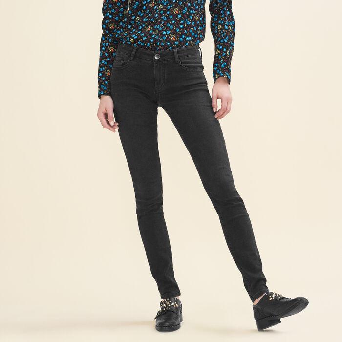 Jean skinny en coton stretch -  - MAJE