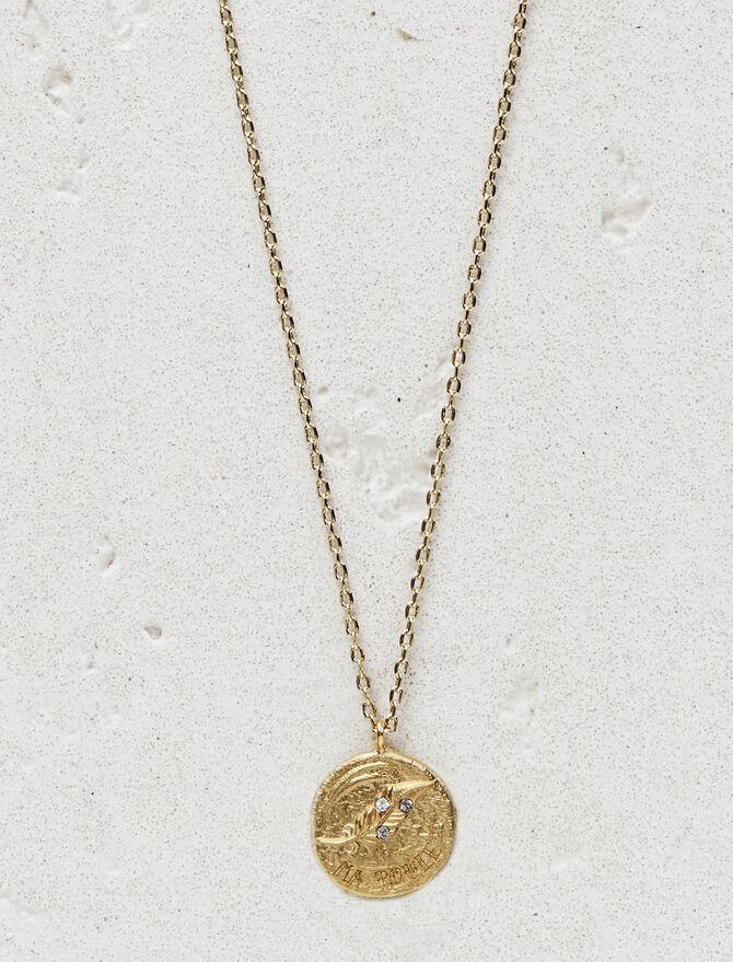 """Collier """"Ma poule"""" en plaqué or - Bijoux - MAJE"""